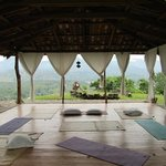 Gaia, a meditation, yoga, and massage pavillion