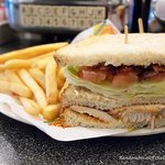 Chicken Club Sandwich, simplicity at its best!