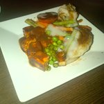 Grilled Paneer and Vegetables