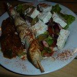 Charwarma en assiette