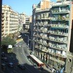 Вид на улицу Via Agusta