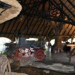 Haupthalle der Okapuka Ranch