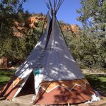 On site Teepee