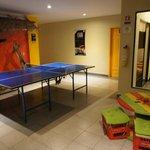 sala de ping pong