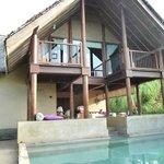 suite avec piscine privée