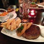 Steak (8oz I think) main