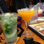 Mojito and Mango Martini