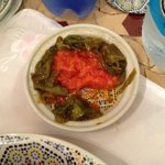 salade de tomate et poivron (mechouia)