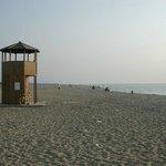 La spiaggia di Marina di Vecchiano