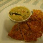Hühnchen mit Thai-grün-Curry