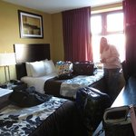 Our room on the 2nd floor by the elevator