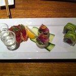 tuna tasting plate