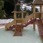 Another play area - in pool