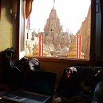 Out my bedrooom window...Jain temple