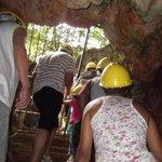 Saida da caverna