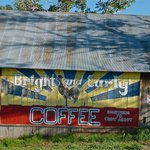 Coffee barn outside of Cuchara