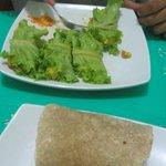 raw and non raw burritos