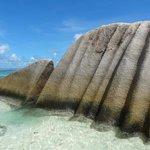 Strange granite rocks