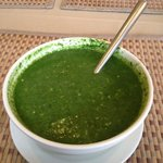 Spinach and Asparagus soup delicious!