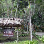 Entrance to the Jungle Lodge
