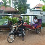 Hoteleigenes Tuk-Tuk mit unserem liebenswürdigen Fahrer