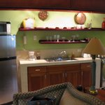 Kitchen in our suite