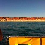 boat ride from the marina
