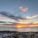 Sunset from Ocean Pavilion