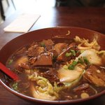 Brisket Udon (Soup)
