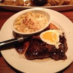 Rancher with Mac and Cheese