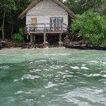 Our beach hut.