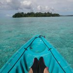 Paddle boat adventures to nearby islands - sanbis