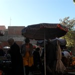 Fruit en kruidenmarkt