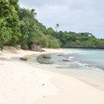 kleiner Kayakausflug den Strand entlang