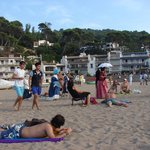 """The """"old  Southamericans"""" arrived to Sa Riera beach during Fira d'Indians"""