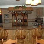 Bar in Dining Room