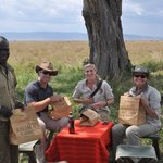 Our Safari guide packed us a picnic lunch