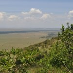 The views of the Mara from Kilima Camp are spectacular