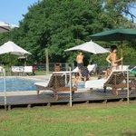 Nice pool - very popular