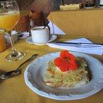 Ovo escondido - Café da Manhã