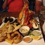 seafood Platter- YUM