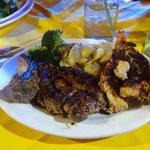 Pork Chop and Lobster