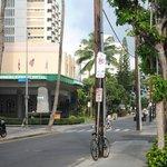 Entrance to Waikiki Resort