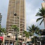 Waikiki Resort from the Beach