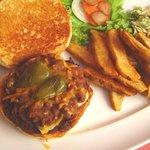 Mexican Cowboy Burger.