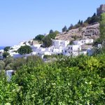 The town of Lindos