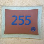 Room #255, on the second floor, back building