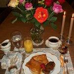 Breakfast at Dobranoc Inn