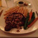 ribeye steak.