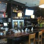 The bar near the enterance